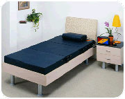 Magnetic therapy bed
